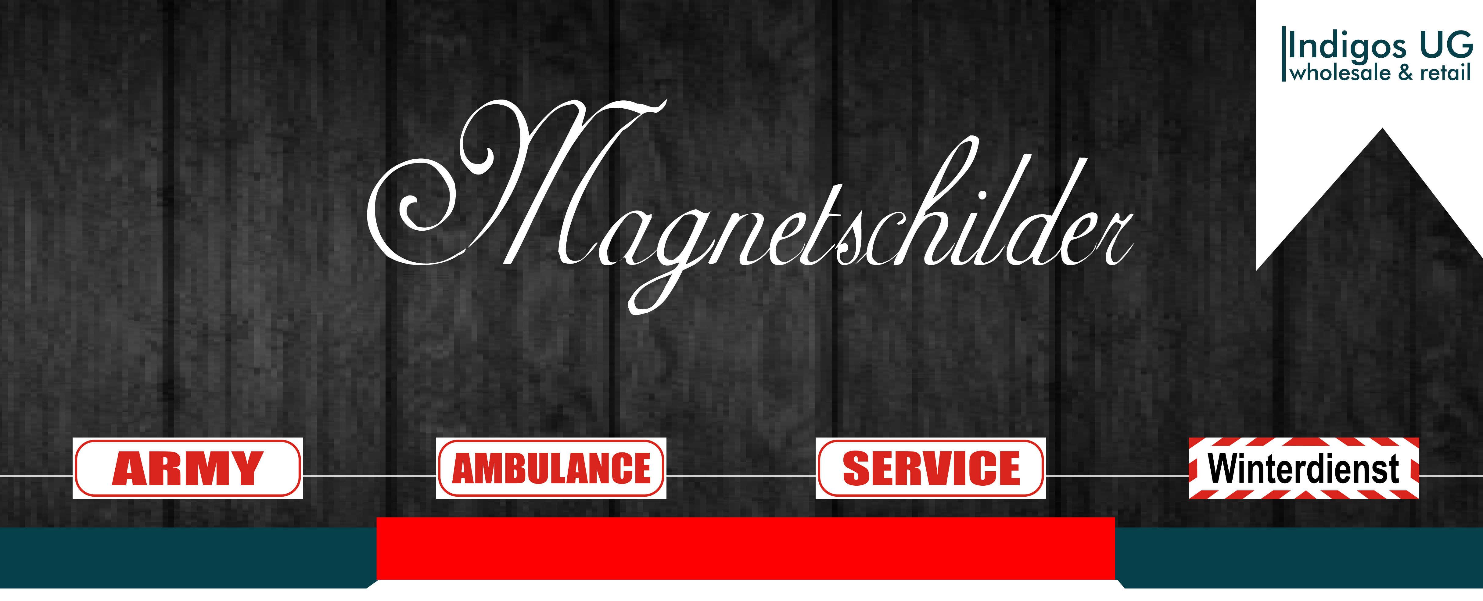 FAHRANFÄNGER Magnetfolie für´s Auto Fahrschule Baustelle JDM261 Magnetschild
